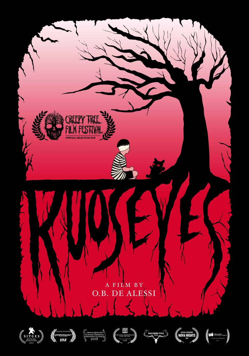 Kuos Eyes Poster creepy tree copy copy